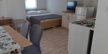 Neviđane, Гостиная в размещении типа apartment, доступный кондиционер.