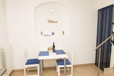 Mošćenička Draga, Jídelna v ubytování typu apartment, WiFi.