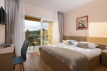 Trviž, Ložnice v ubytování typu room, s klimatizací, domácí mazlíčci povoleni a WiFi.