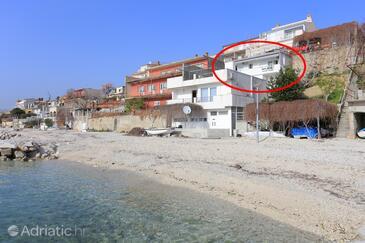 Podstrana, Split, Объект 18466 - Апартаменты вблизи моря с галечным пляжем.