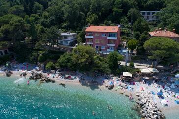 Mošćenička Draga, Opatija, Objekt 18473 - Sobe blizu mora sa šljunčanom plažom.