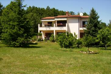 Vinež, Labin, Property 18493 - Apartments with pebble beach.