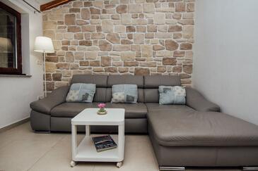 Vir, Obývací pokoj v ubytování typu apartment, domácí mazlíčci povoleni a WiFi.