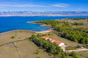 Vir - Lozice, Vir, Объект 18576 - Апартаменты вблизи моря с песчаным пляжем.