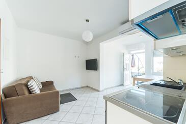 Vir - Lozice, Гостиная в размещении типа apartment, доступный кондиционер и WiFi.