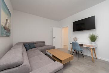 Vir, Гостиная в размещении типа house, доступный кондиционер и WiFi.
