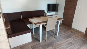 Privlaka, Гостиная в размещении типа apartment, доступный кондиционер и WiFi.