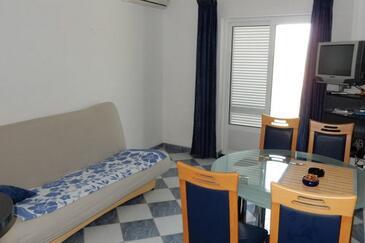 Lovište, Obývací pokoj v ubytování typu apartment, s klimatizací, domácí mazlíčci povoleni a WiFi.
