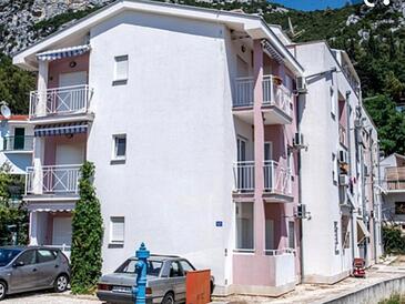 Klek, Ušće Neretve, Property 18708 - Apartments with pebble beach.