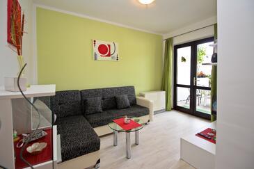 Šilo, Obývací pokoj v ubytování typu apartment, WiFi.