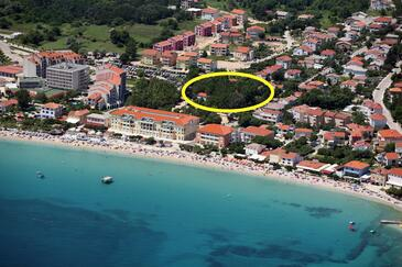 Baška, Krk, Alloggio 18771 - Appartamenti affitto vicino al mare con la spiaggia ghiaiosa.
