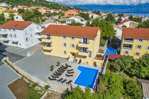 Apartments with a swimming pool Baška, Krk - 18780