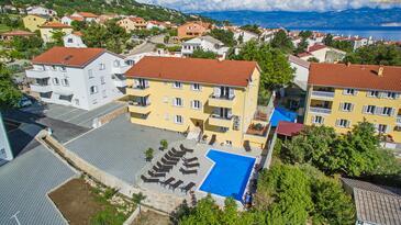 Baška, Krk, Property 18780 - Apartments with pebble beach.