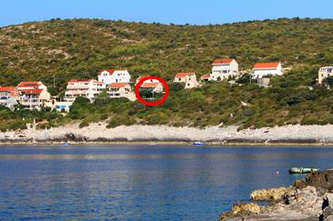 Zavalatica, Korčula, Property 188 - Apartments near sea with rocky beach.