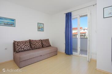 Bušinci, Salon dans l'hébergement en type apartment, climatisation disponible et WiFi.