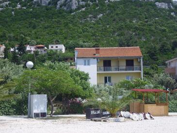 Klek, Ušće Neretve, Objekt 18815 - Ubytování v blízkosti moře s oblázkovou pláží.