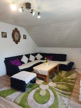 Garešnica, Salon dans l'hébergement en type apartment, WiFi.