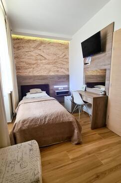 Daruvar, Spalnica v nastanitvi vrste room, dostopna klima in WiFi.