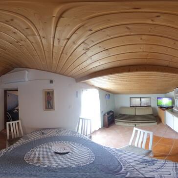 Poljica, Living room in the apartment, WiFi.