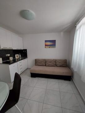 Gradac, Living room in the apartment, air condition available, (pet friendly) and WiFi.