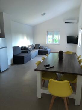 Seline, Гостиная в размещении типа apartment, доступный кондиционер и WiFi.