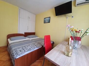 Makarska, Гостиная в размещении типа apartment, Домашние животные допускаются и WiFi.