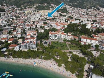 Makarska, Makarska, Объект 18898 - Апартаменты с галечным пляжем.