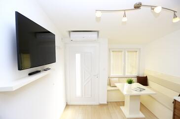 Zadar, Obývací pokoj v ubytování typu apartment, s klimatizací a domácí mazlíčci povoleni.