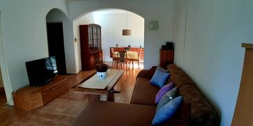 Grohote, Гостиная 1 в размещении типа house, доступный кондиционер, Домашние животные допускаются и WiFi.