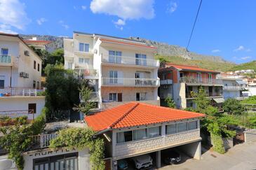 Dugi Rat, Omiš, Alloggio 18917 - Appartamenti affitto con la spiaggia ghiaiosa.