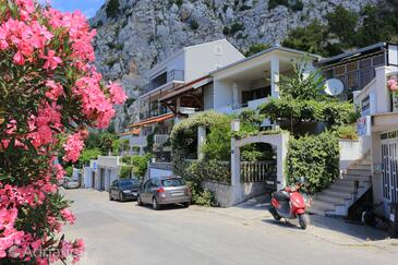 Omiš, Omiš, Property 18919 - Apartments with pebble beach.