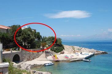 Pokrivenik, Hvar, Objekt 18955 - Ubytování v blízkosti moře s oblázkovou pláží.