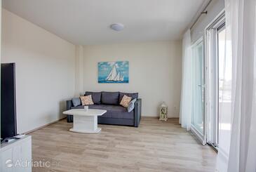Pirovac, Гостиная в размещении типа apartment, доступный кондиционер и WiFi.