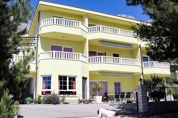 Makarska, Makarska, Объект 19009 - Апартаменты с галечным пляжем.