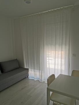 Vrsi - Mulo, Living room in the studio-apartment, WiFi.