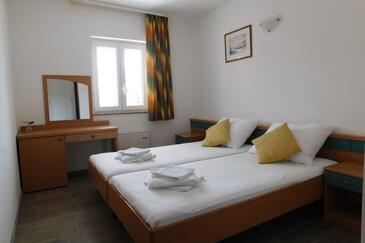 Supetar, Спальня в размещении типа room, доступный кондиционер, Домашние животные допускаются и WiFi.
