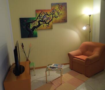 Rabac, Гостиная в размещении типа apartment, доступный кондиционер и WiFi.
