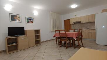 Rabac, Гостиная в размещении типа apartment, доступный кондиционер, Домашние животные допускаются и WiFi.