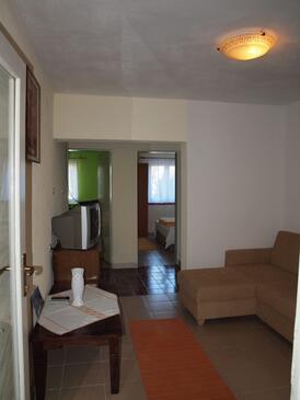 Rogoznica, Гостиная в размещении типа apartment, доступный кондиционер и WiFi.