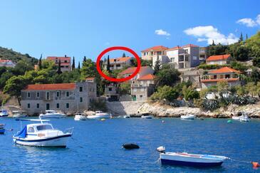 Prigradica, Korčula, Property 193 - Apartments with pebble beach.