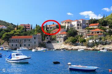 Prigradica, Korčula, Объект 193 - Апартаменты с галечным пляжем.