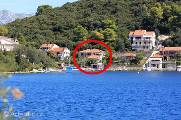 Žrnovska Banja, Korčula, Property 194 - Apartments near sea with pebble beach.