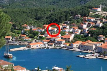 Jelsa, Hvar, Property 196 - Apartments near sea with pebble beach.
