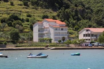 Supetarska Draga - Donja, Rab, Obiekt 2001 - Kwatery przy morzu z piaszczystą plażą.