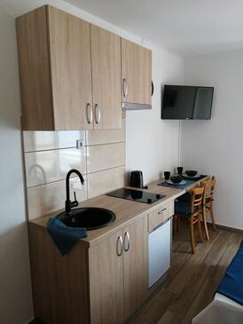 Supetarska Draga - Gornja, Kuchyně v ubytování typu studio-apartment, WiFi.