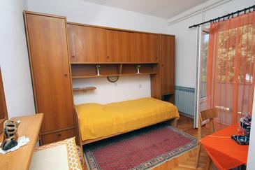 Barbat, Sypialnia w zakwaterowaniu typu room, dopusteni kucni ljubimci i WIFI.