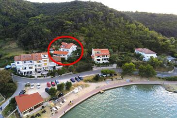 Supetarska Draga - Donja, Rab, Property 2022 - Apartments near sea with sandy beach.