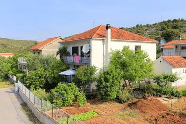 Poljica, Trogir, Property 2034 - Apartments near sea with pebble beach.