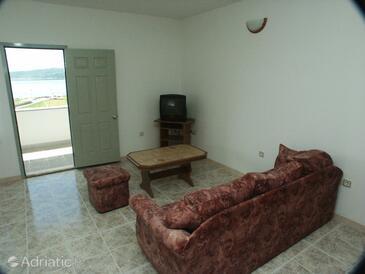 Seget Donji, Гостиная в размещении типа apartment, доступный кондиционер и WiFi.