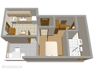 Mandre, План в размещении типа apartment, WiFi.